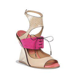 "<strong>Ferragamo</strong> Sandal in Nappa, <a href=""http://www.ferragamo.com/shop/en/usa/women/shoes/573557#pId=6148914691233550842"">$1,250</a>"