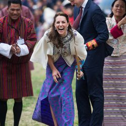 The other national sport of Bhutan: giggling.
