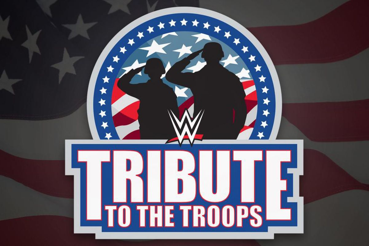 Image result for 16th annual WWE Tribute to the Troops