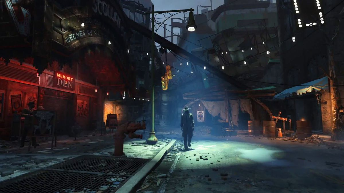 Fallout 4 - Mysterious Stranger screencap 1920