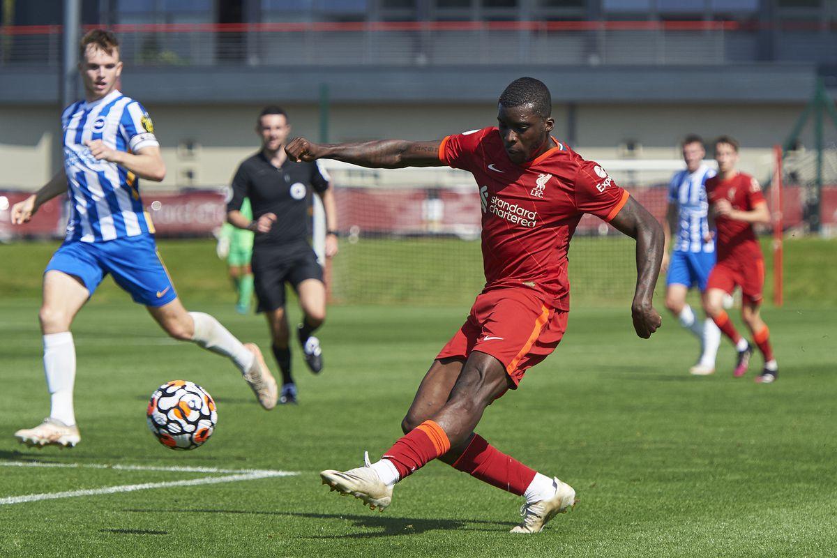 Liverpool U23 v Brighton & Hove Albion U23: Premier League 2