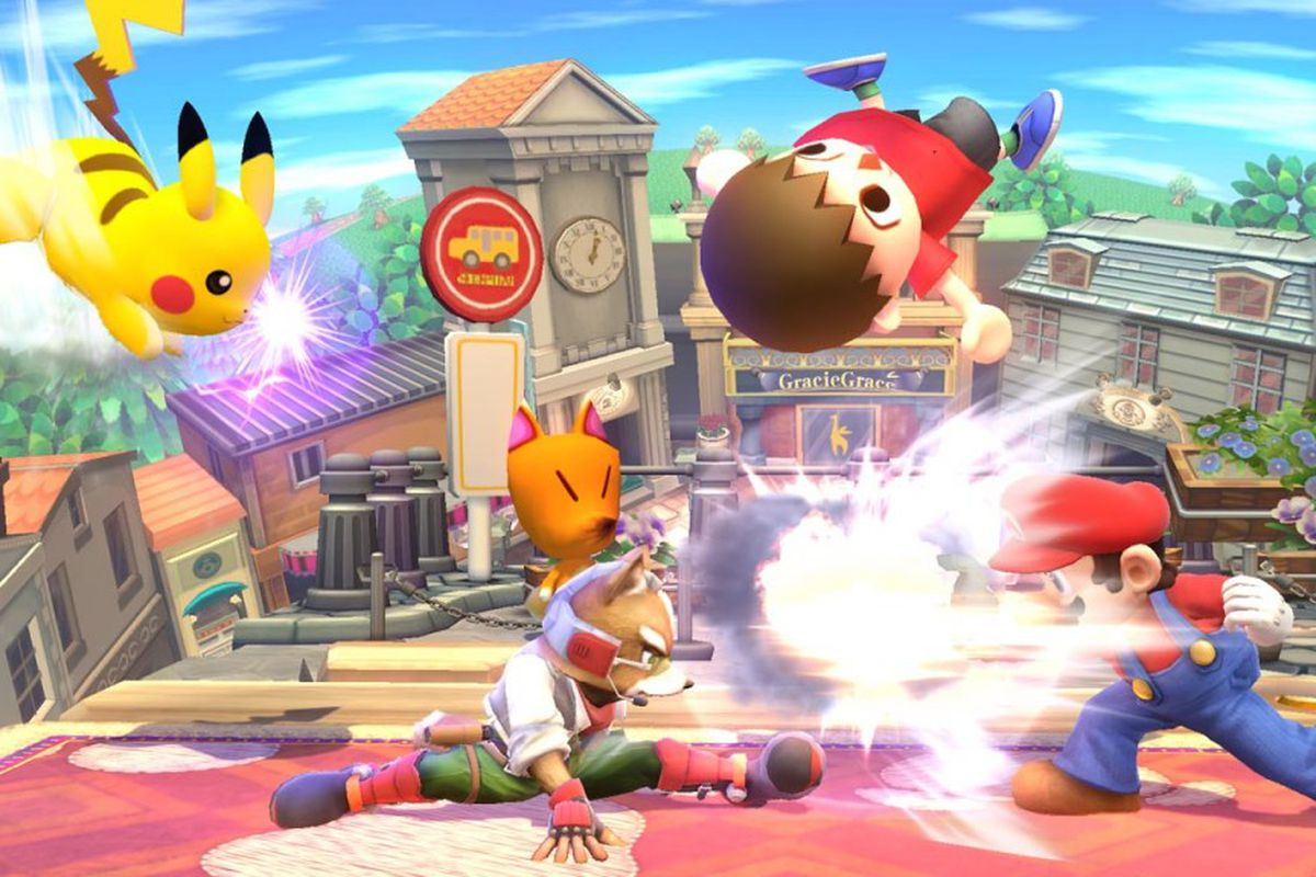 Image result for Super Smash Bros. Wii U Screenshot