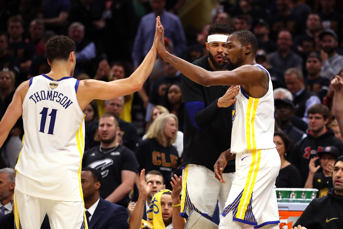 918d1ff44af3 Warriors vs. Cavs  Kevin Durant just reminded everyone why the ...