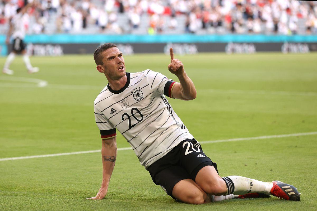 Robin Gosens na Euro 2020 pela Alemanha