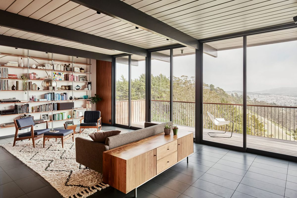 San Francisco Eichler Home Renovation Restores Original