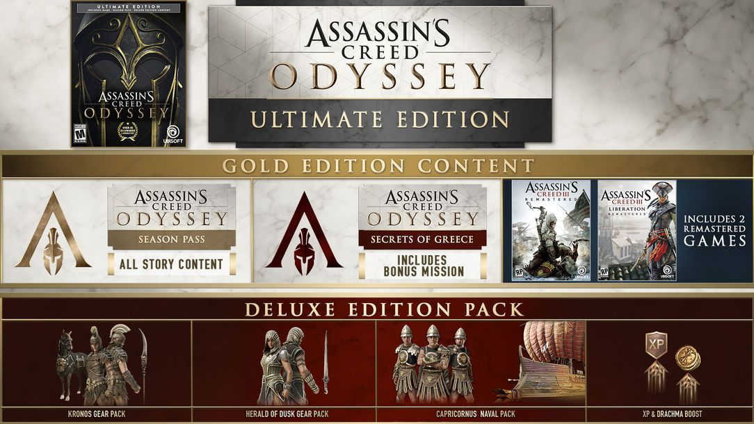 assassins creed odyssey deluxe edition steam