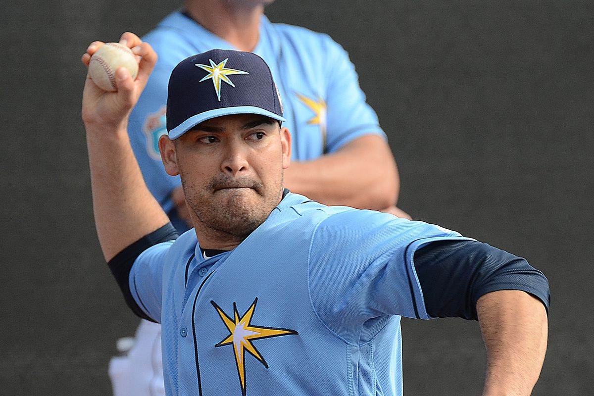 Eddie Gamboa pitched in relief for Durham Saturday