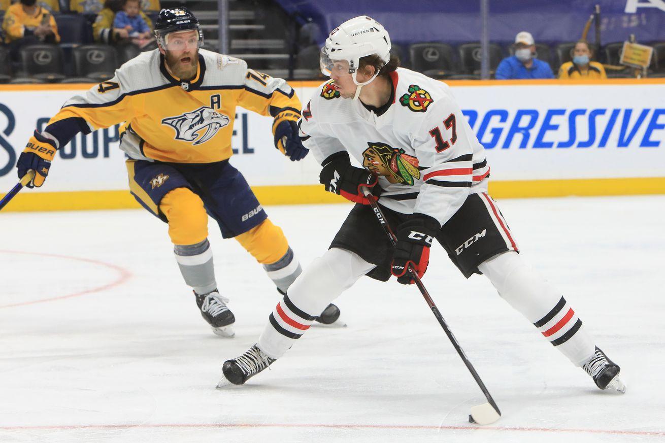 NHL: APR 03 Blackhawks at Predators