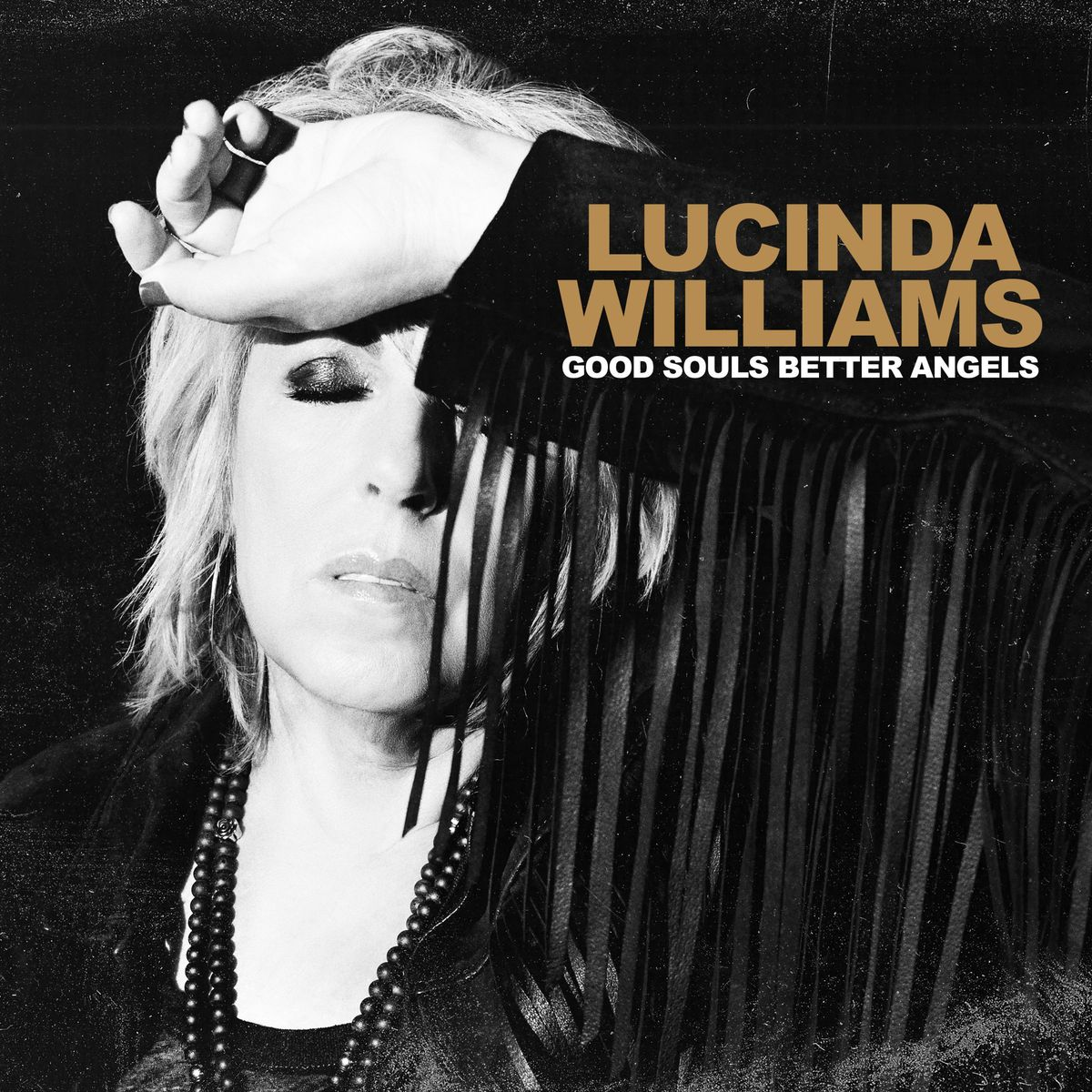 """This cover image released by Highway 20/Thirty Tigers shows """"Good Souls Better Angels"""" by Lucinda Williams."""