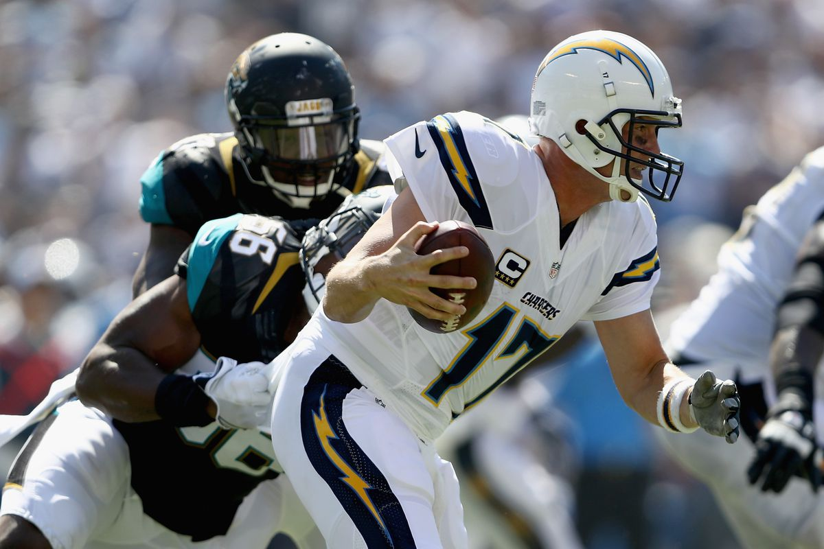 jaguars vs. chargers all-time series history: philip rivers owns us