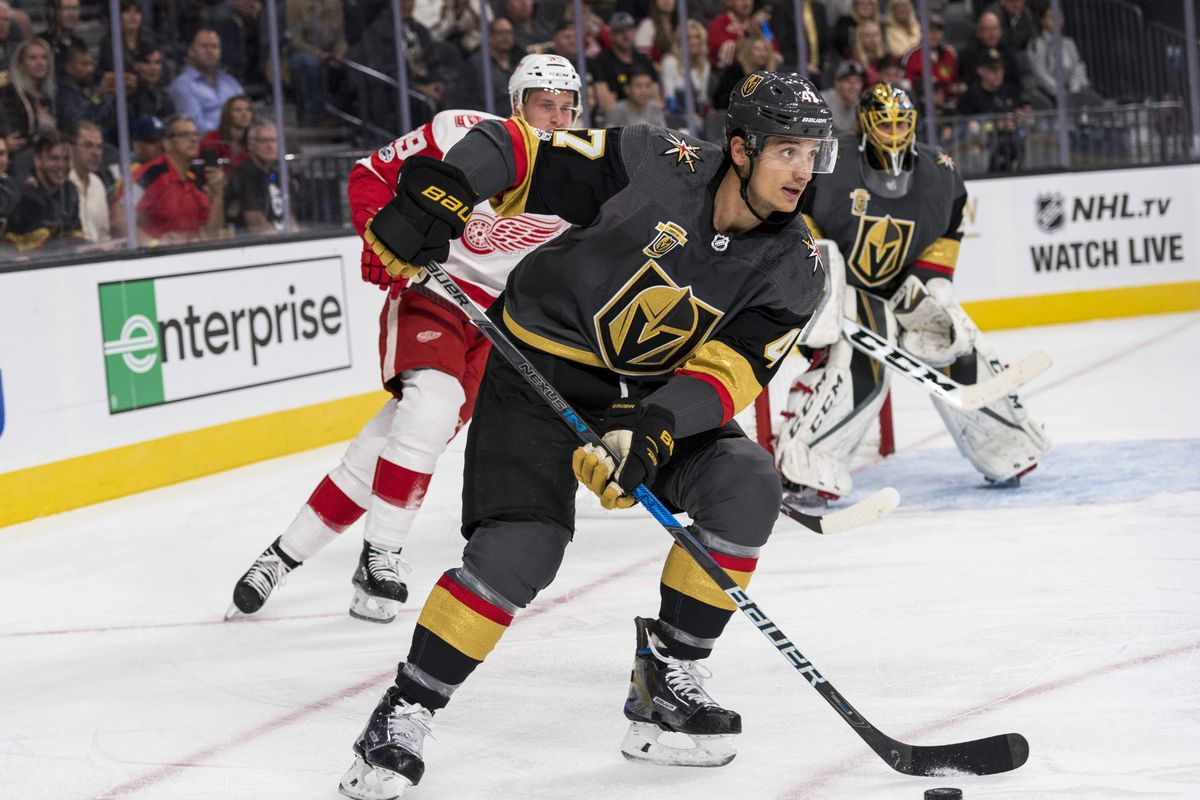 NHL: Detroit Red Wings at Vegas Golden Knights