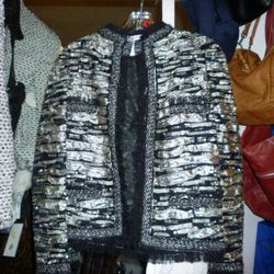 An Oscar de la Renta sample jacket
