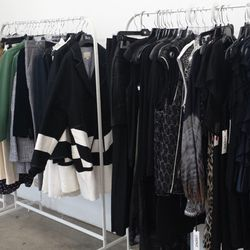 An entire rack of Boy by Band of Outsiders, plus L'Agence and more.