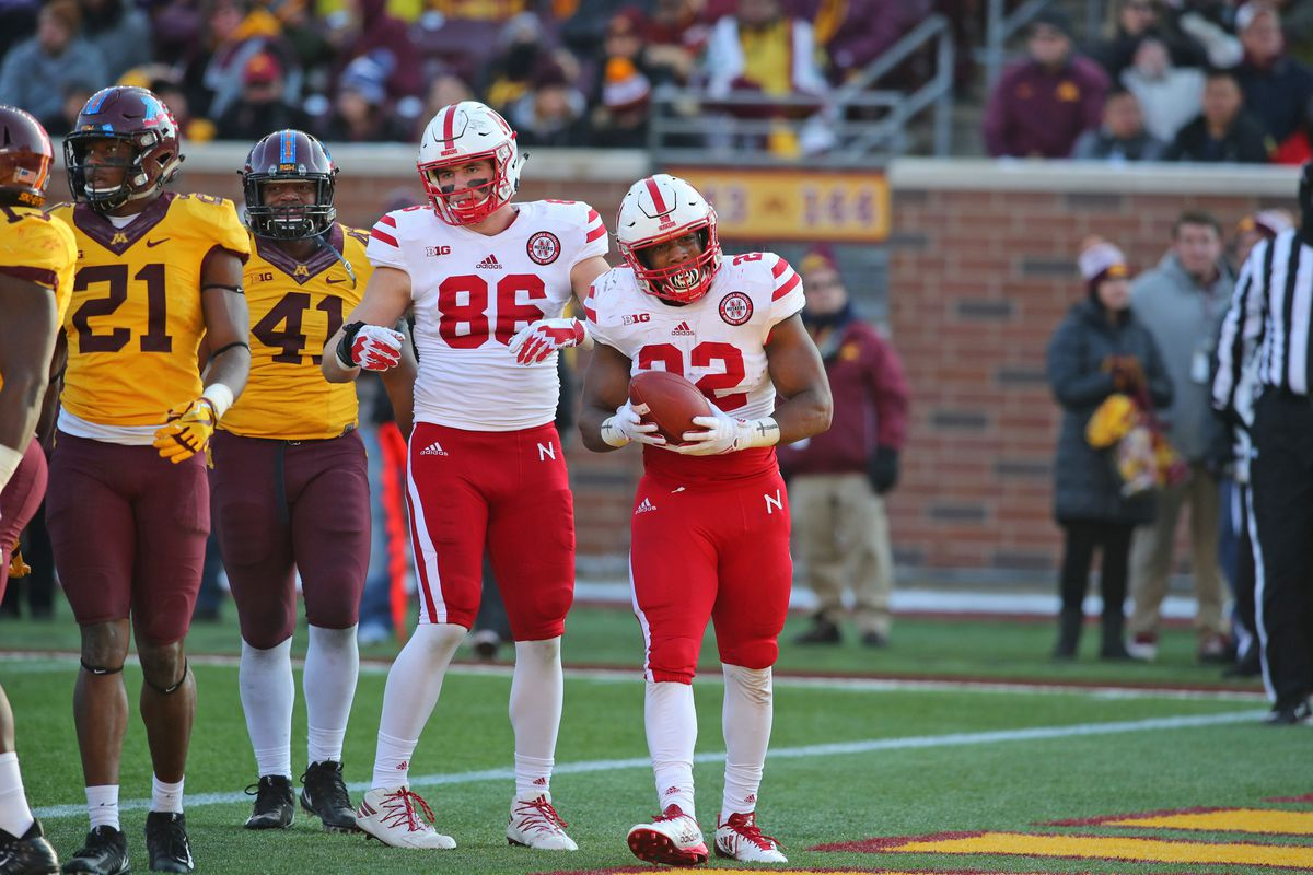 I have a funny feeling Nebraska was waiting until they won a game to reveal  the alternate uniforms because of what is written on the back on the jerseys . 0a6a4a078