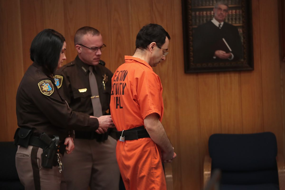 Larry Nassar sentenced to an additional 40 to 125 years in prison