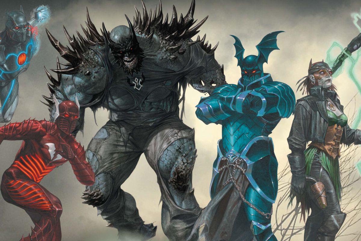 Afbeeldingsresultaat voor dark knights metal