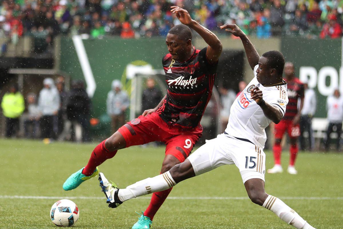 MLS: Philadelphia Union at Portland Timbers