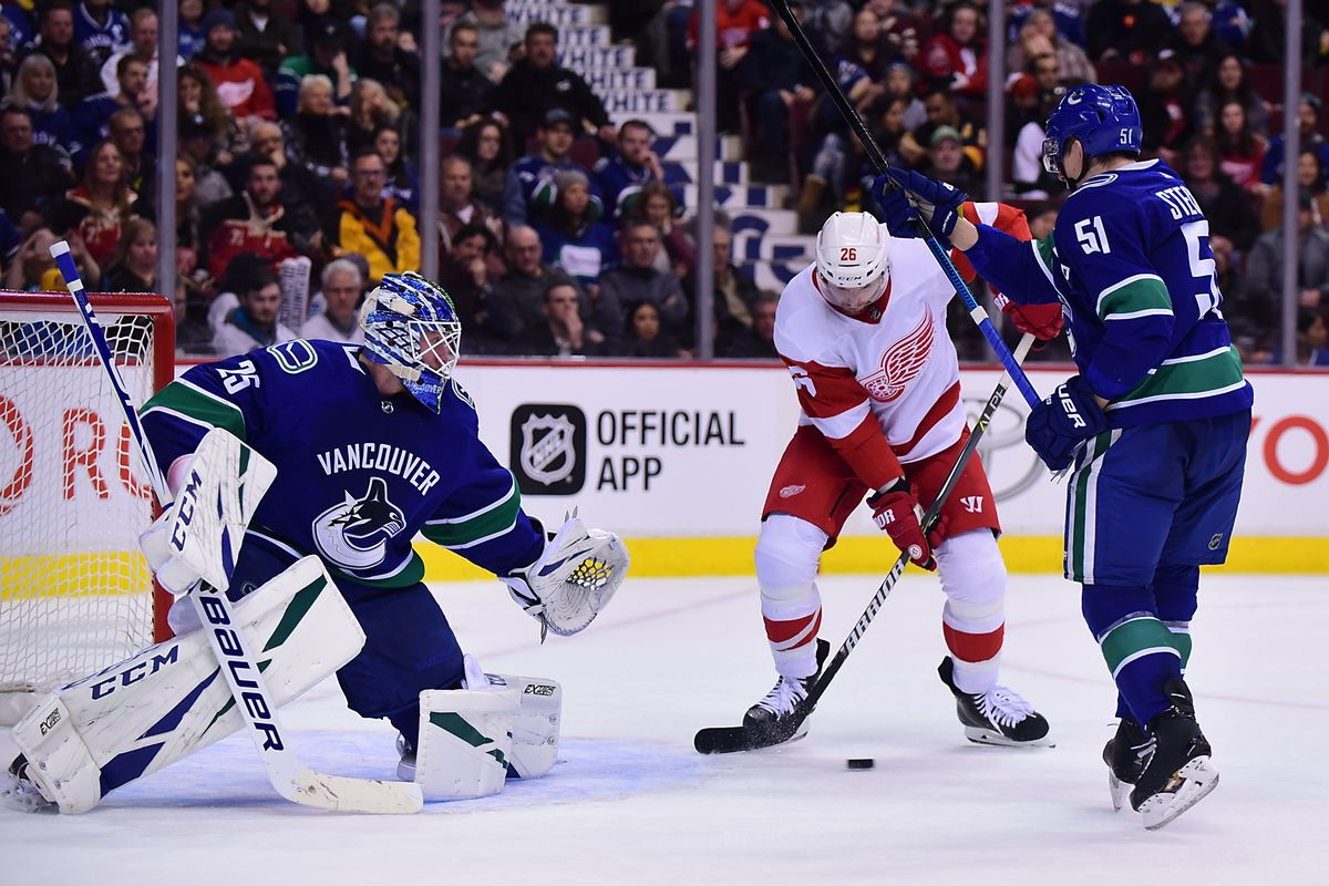 Red Wings-Canucks: Morning Skate, Preview, How to Watch