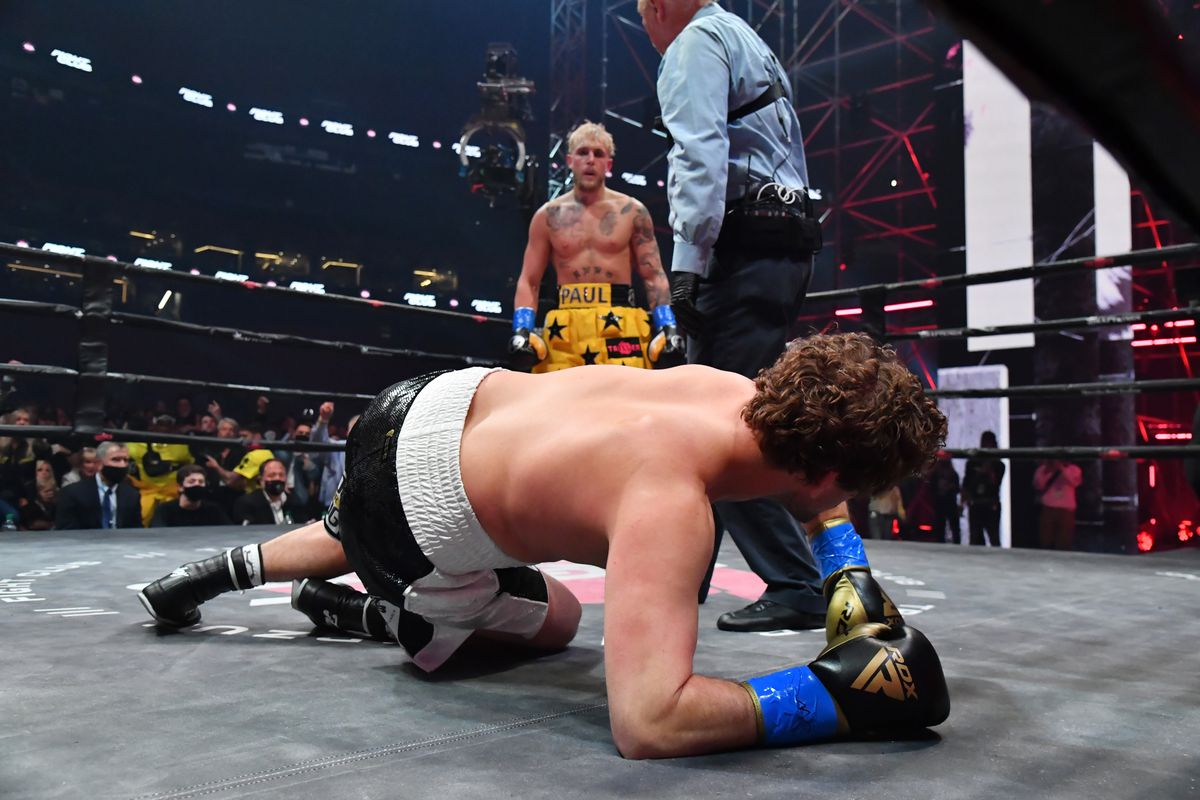 Watch Jake Paul knock out Ben Askren at Triller Fight Club PPV - Bad Left  Hook