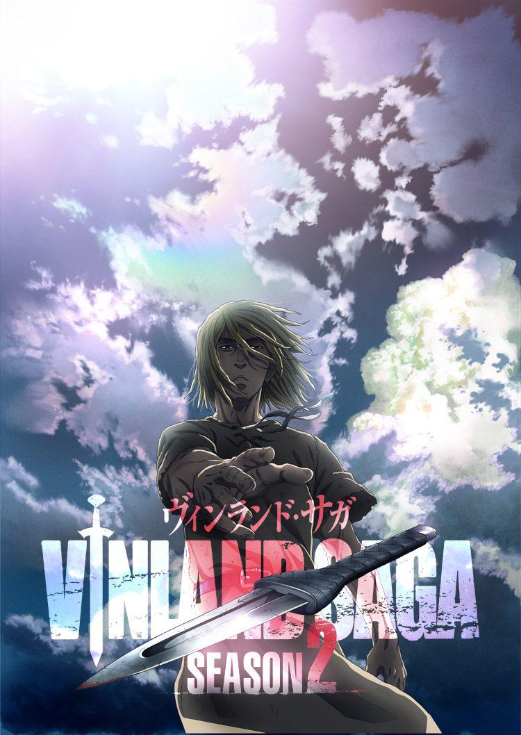 The poster and visual promotion image for Vinland Saga season 2