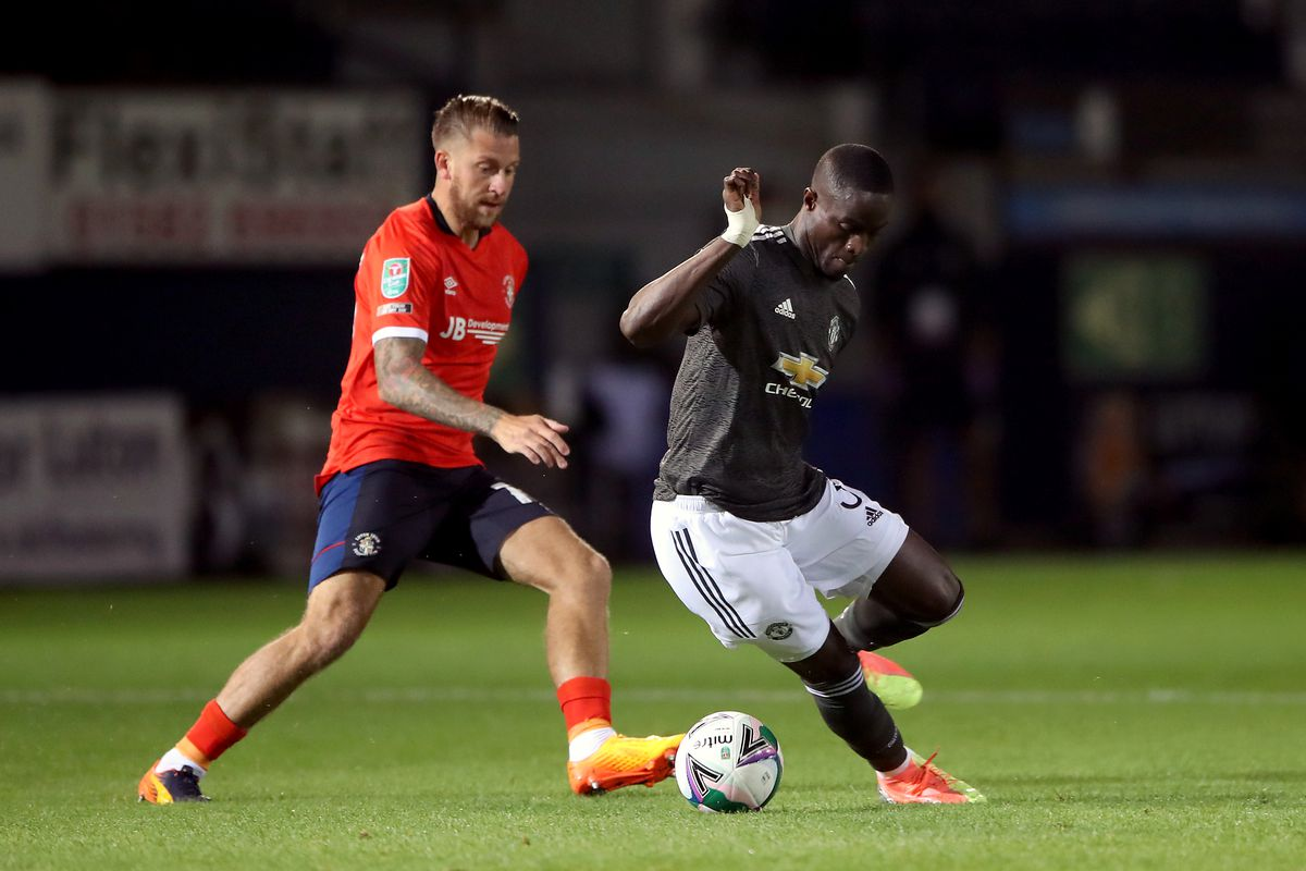 Luton Town v Manchester United - Carabao Cup - Third Round - Kenilworth Road