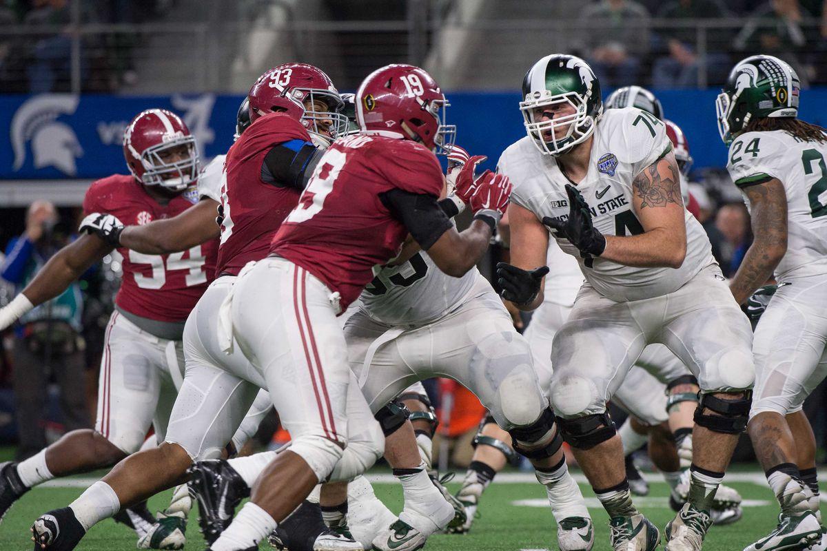 NCAA Football: Cotton Bowl-Michigan State vs Alabama