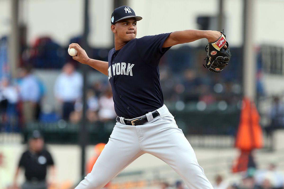 MLB: FEB 27 Spring Training - Yankees at Tigers