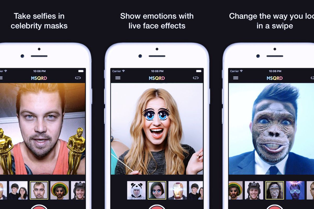 Facebook Is Shutting Down Msqrd The Ar Selfie App It Acquired In 2016 The Verge