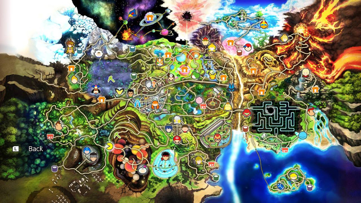 Smash Ultimate Guide Every World Of Light Character Location With