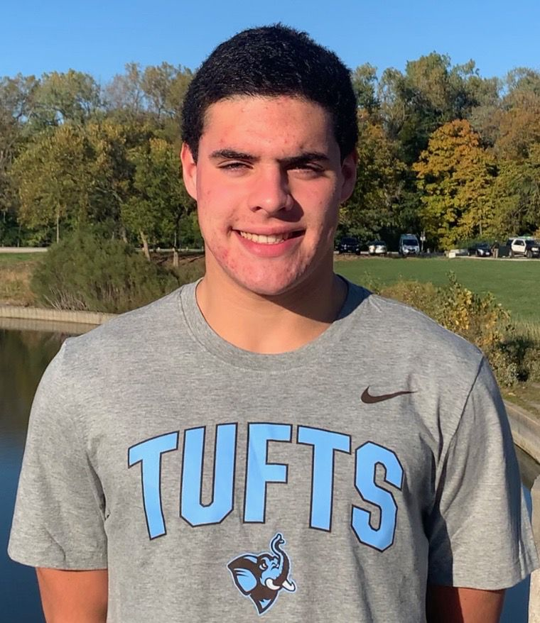 Evanston swimmer Charlie Duffy, who is committed to Tufts, understands firsthand the dangers of COVID-19 after battling the disease earlier this year.