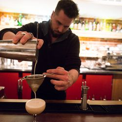 Watch General Manager, Justin Shiels, make an amaretto sour.