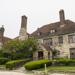 The Harley Clark mansion was declared an Evanston landmark by the city's Preservation Commission in 1982. | Tyler LaRiviere/Sun-Times