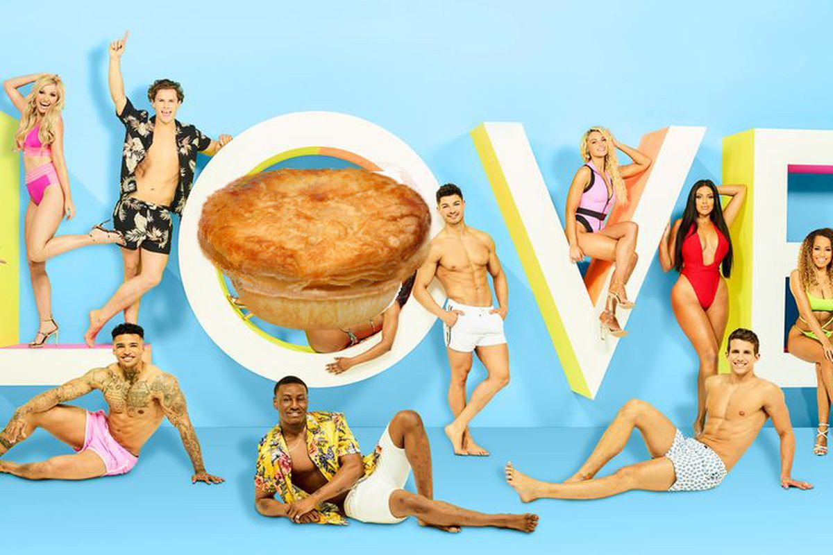 Love Island 2019 with Uber Eats adds pies for Amber, Michael, Anna, and Curtis