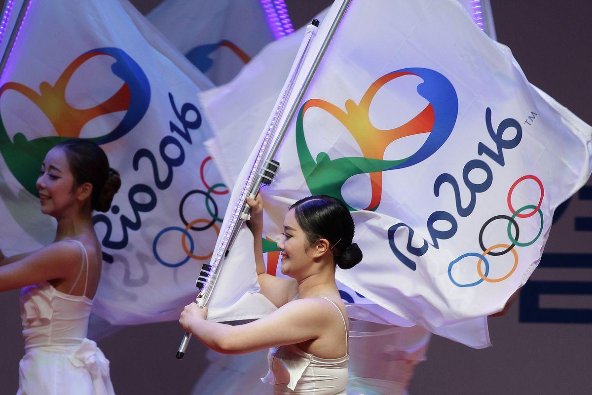 Rio 2016 Olympics Inaugural Ceremony of Korean Athletes
