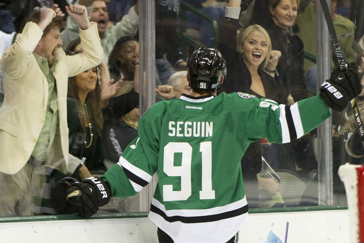 pretty nice b1a01 84bff Dallas Stars Daily Links: On Tyler Seguin Day, Questions ...