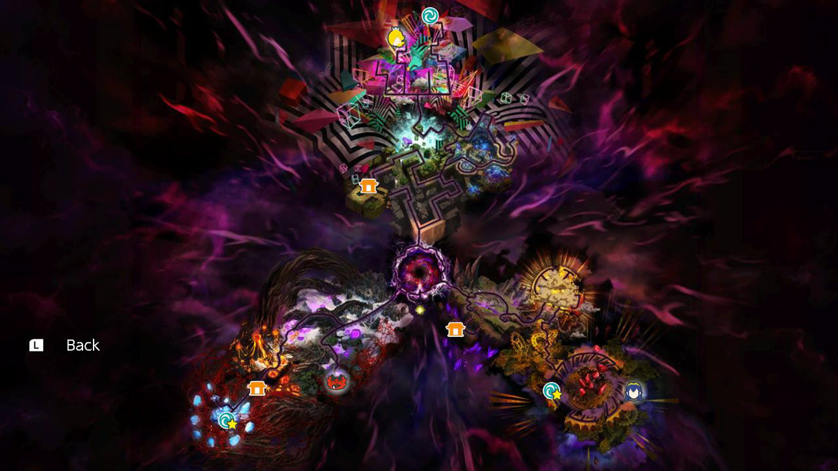 Super Smash Bros. Ultimate Dark Realm character location map Lucina, Rosalina & Luma and Incineroar