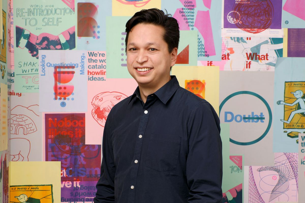 Ben Silbermann, co-founder and CEO, at Pinterest headquarters in San Francisco, California.