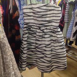 Strapless dress, $269 (was $597)