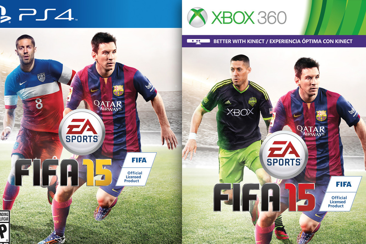 U S Soccer Hero Clint Dempsey Has Been Named The Cover Star For North American Versions Of Fifa  Requiring A Different Packshot For The Playstation