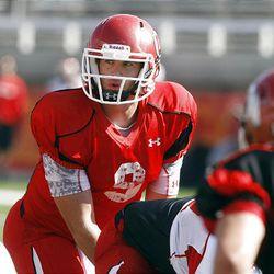 Jon Hayes, University of Utah football practice.  Tuesday, Aug. 16, 2011   Photo by Stuart Johnson/Deseret News