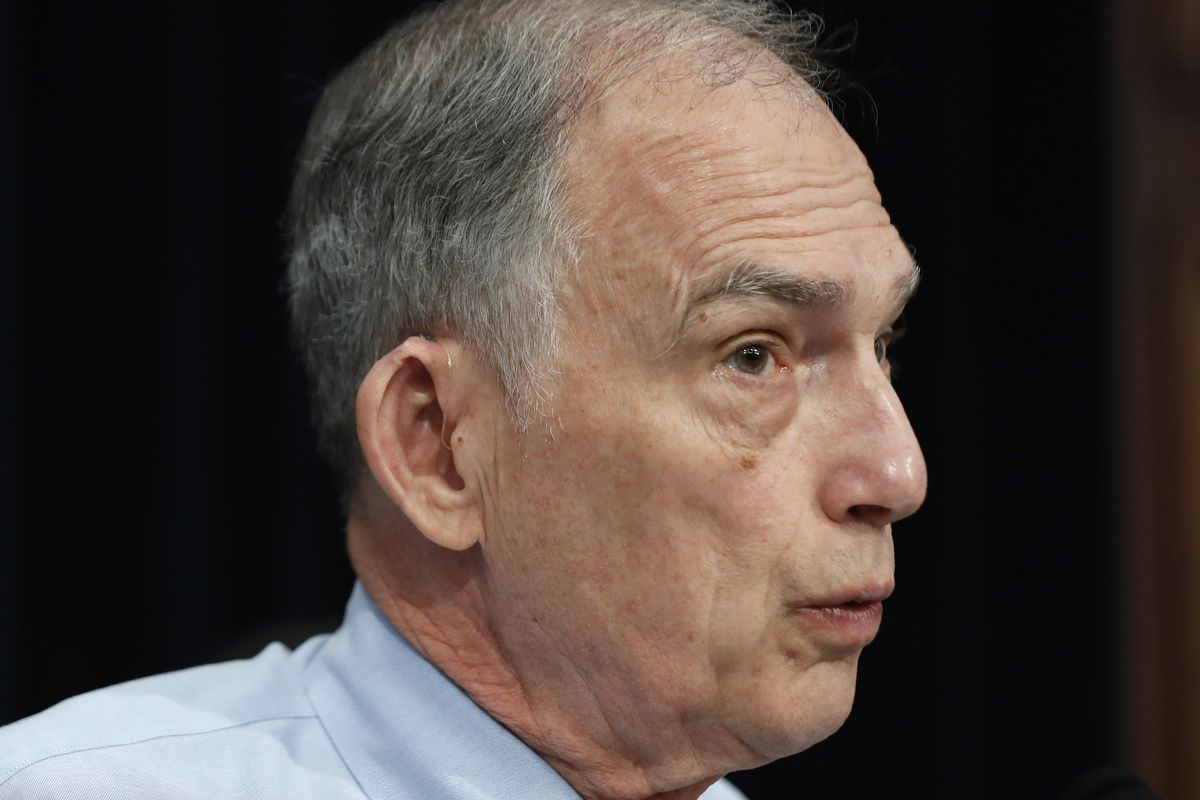 Rep. Peter Visclosky, D-Ind., speaks on Capitol Hill earlier this year. Visclosky isn't running for reelection.