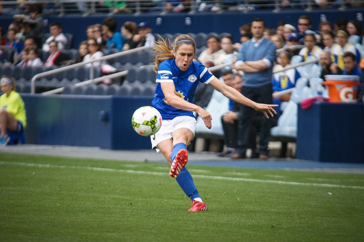 Heather O'Reilly (HAO as she is known) has scored the lone FC Kansas City goal this season