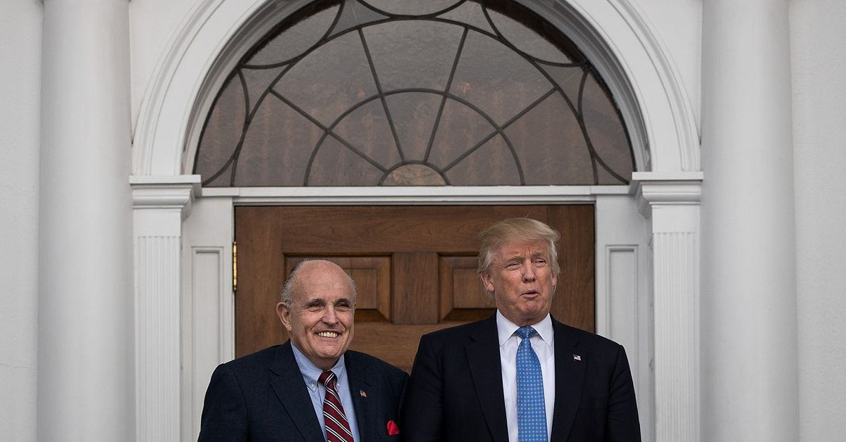 As the Ukraine probe heats up, Trump and Giuliani are sticking together. Mostly.