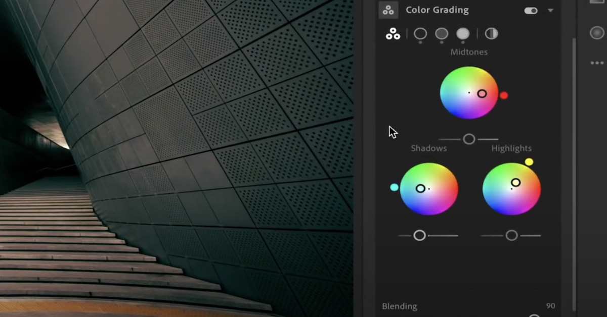 Adobe Lightroom is getting cinema-style color grading thumbnail