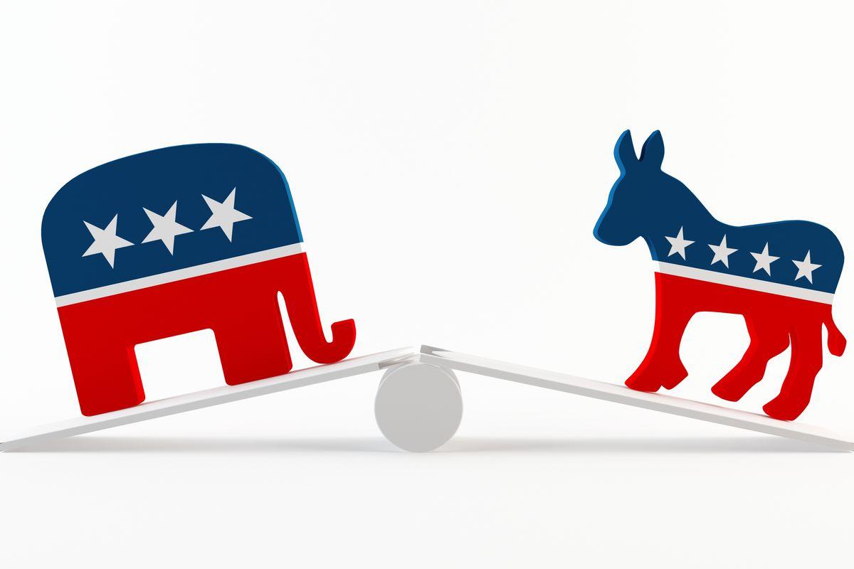 The midterm electorate isn't ideologically balanced.