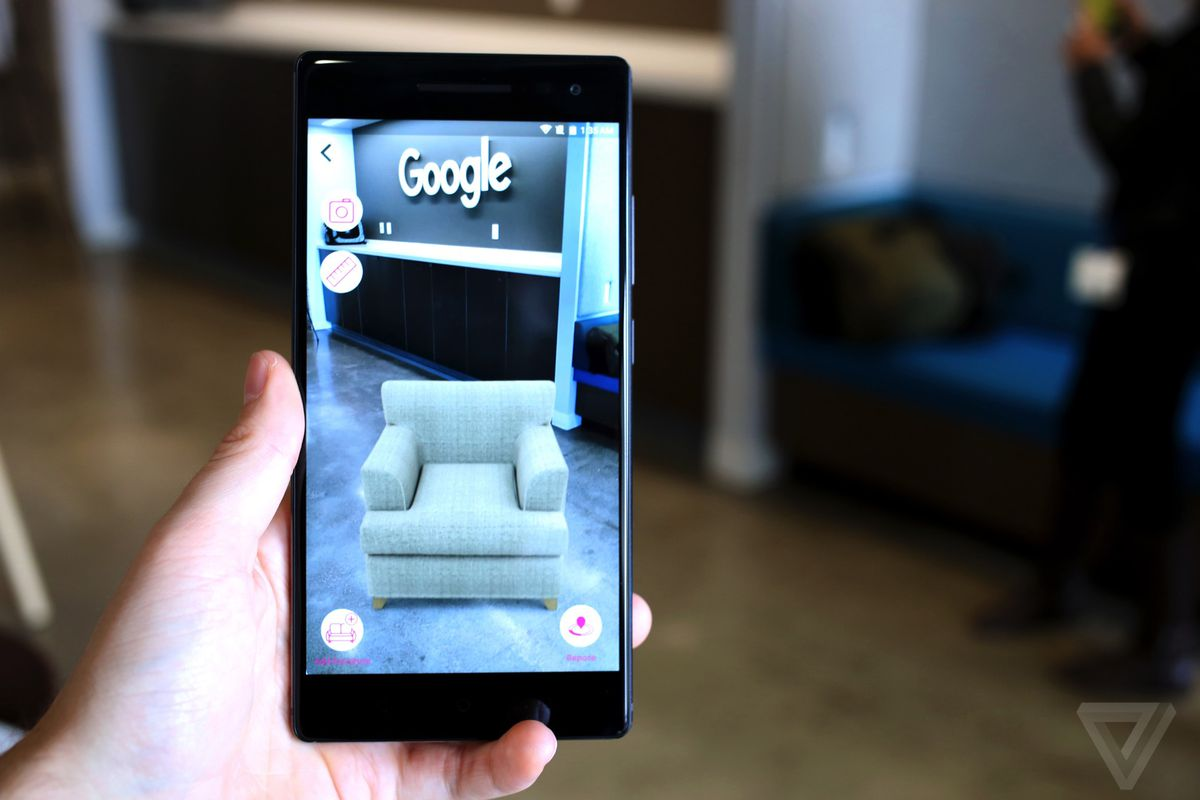 The first Google Tango phone delivers true augmented reality gaming