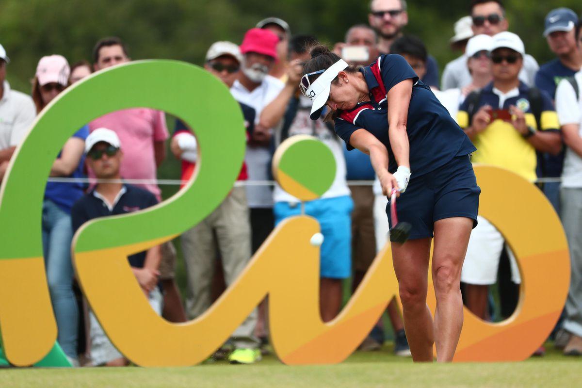Olympics: Golf-Women's Individual-Round 4