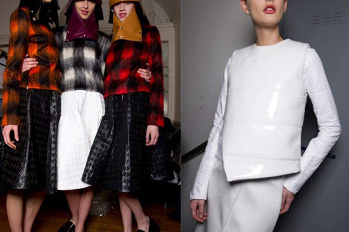 From JW Anderson F/W 2012 collection, via Topshop