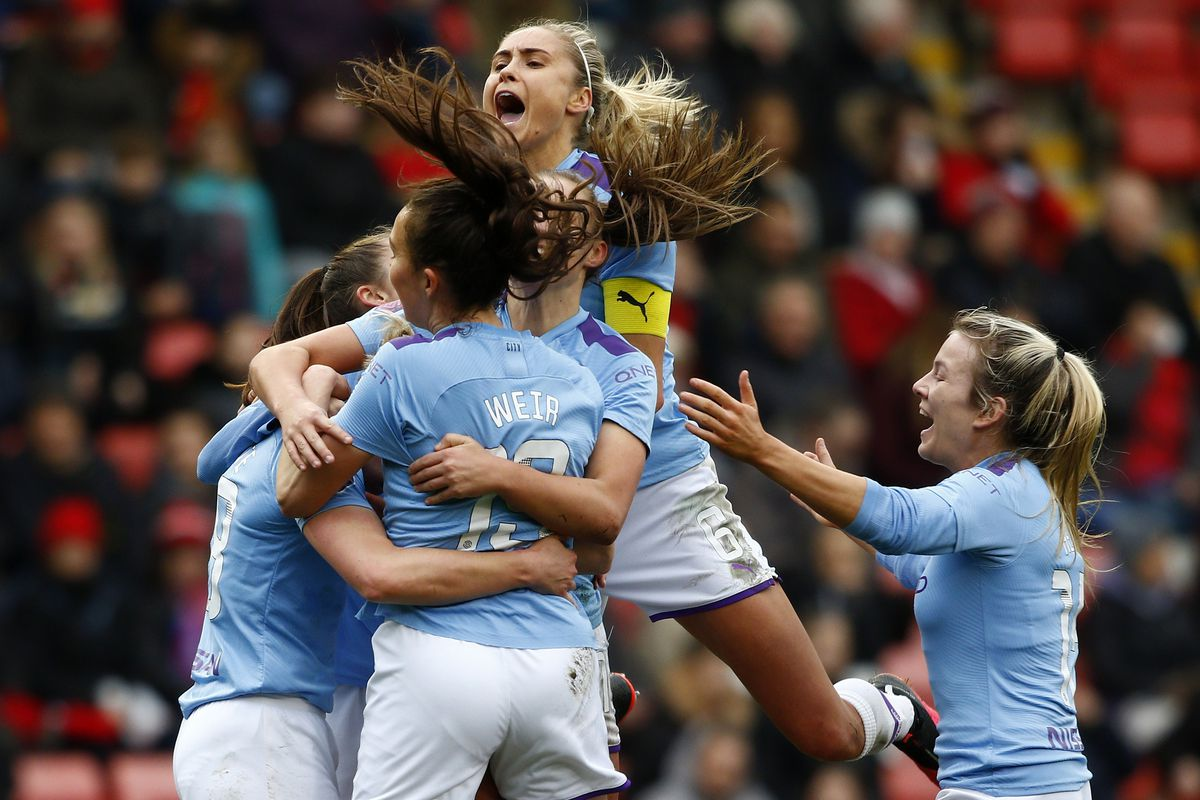 Manchester United Women v Manchester City Women - Women's FA Cup: Fourth Round
