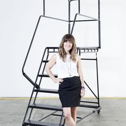 <p><b>Heidi Ware, eBay's head of fashion editorial and creative,</b> is wearing a Club Monaco tee, an Alexander Wang skirt, Barney's New York booties, her wedding rings, Lynn Bann ring, and black pearls from Sayulita, Mexico.</p><p>  <b>What is your wor